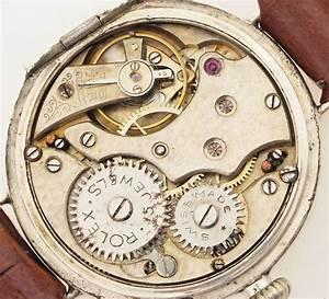 Rolex Auf Rechnung : rolex eine der ersten armband uhren v hans wilsdorf london um1918 925er silber ebay ~ Themetempest.com Abrechnung
