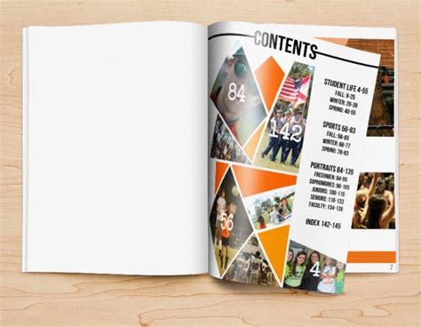 Four Yearbook Table of Contents Examples & How to Use Them ...
