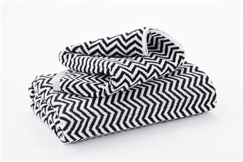 hotel luxury collection black  white herringbone