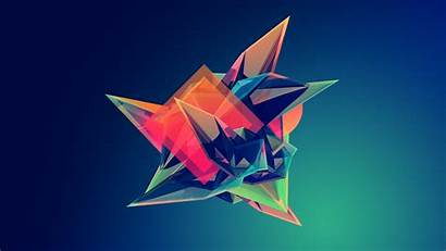 Maller Justin Facets Abstract Geometry Computer Digital