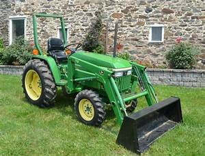 John Deere 790 Compact Utility Tractor Service Technical