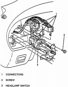 I Need The Wiring Diagram For The In Dash Headlight Switch