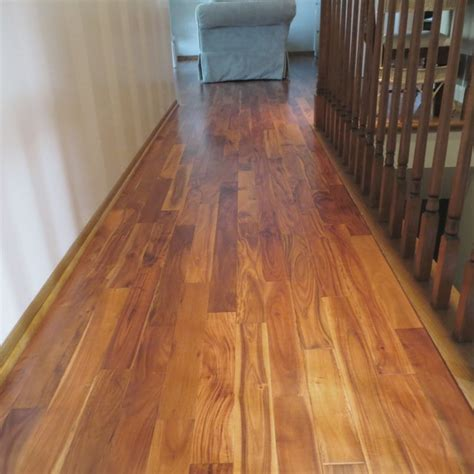 solid acacia flooring solid acacia stain smooth prefinished traditional hardwood flooring minneapolis by