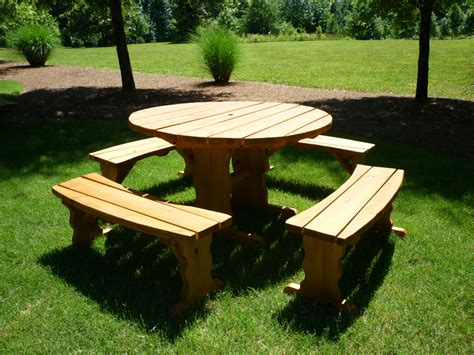 Decorating Ideas Above Kitchen Cabinets - picnic tables home depot all about house design best round wood picnic table