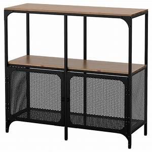 Ikea Offenes Regal : fj llbo regal schwarz ikea ~ Watch28wear.com Haus und Dekorationen