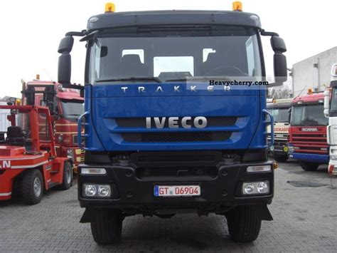 Iveco Trakker 6x6 Ad260t45w 2009 Chassis Truck Photo And Specs