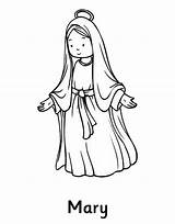 Mary Coloring Assumption Virgin Blessed Rosary Catholic Mysteries Familyholiday Nativity Glorious Jesus Church Colouring Solemnity sketch template