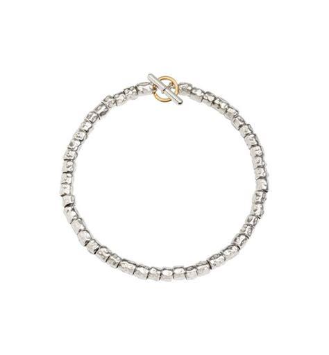 listino prezzi dodo pomellato bracelet kit avec grains en argent argent or jaune
