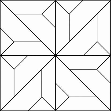 Geometric Block Pattern 98   ClipArt ETC