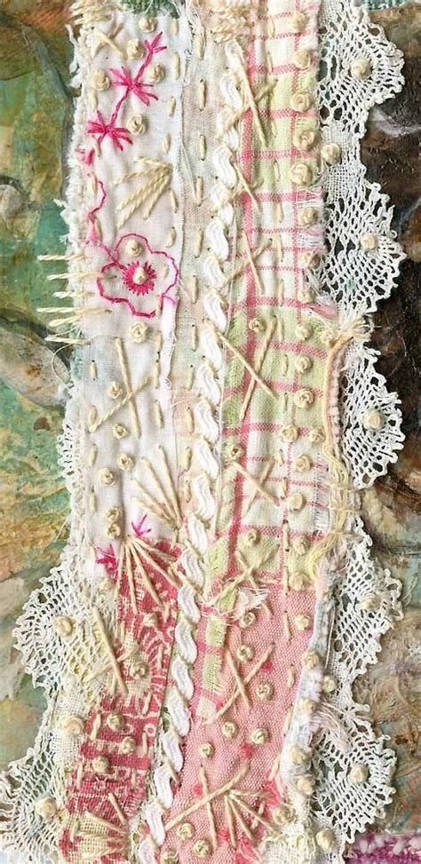 embroidery scarfs  lace  pinterest