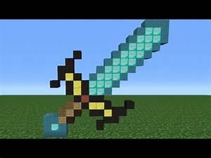 Minecraft Tutorial: How To Make An Enchanted Diamond Sword ...