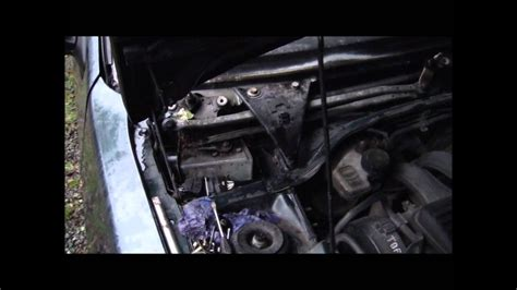 how to fit a peugeot 306 windscreen wiper motor youtube