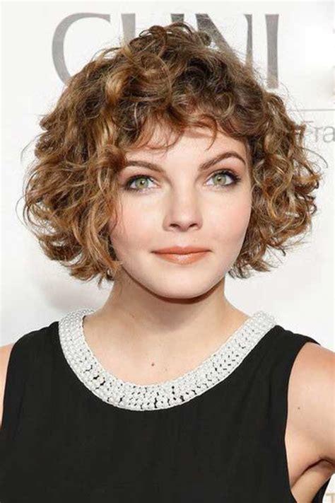 20 short curly hair with bangs short hairstyles haircuts 2018