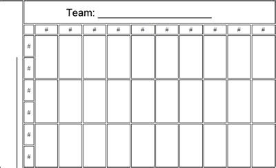 squares nfl football pool printable template office