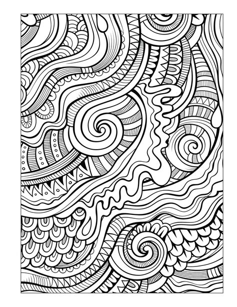 ocean coloring book  seniors men abstract coloring pages pattern coloring pages coloring