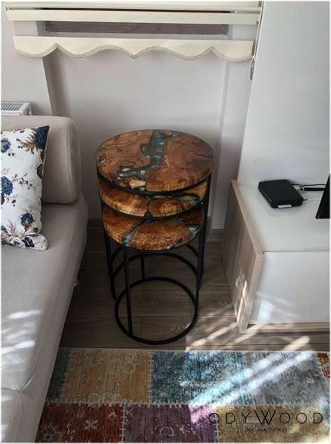 stunning epoxy resin table designs