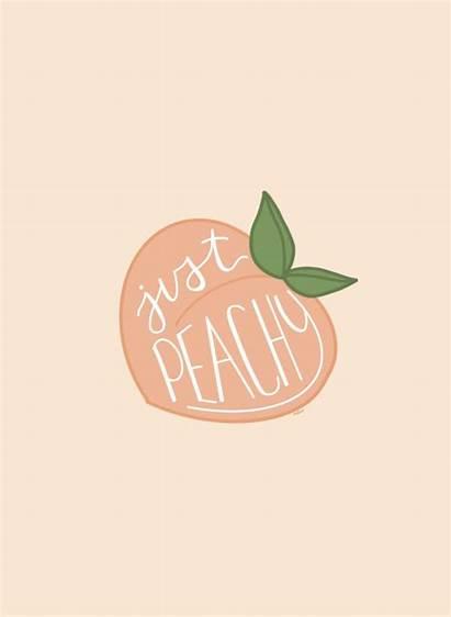 Peachy Aesthetic Peach Collage Reagan Watkins Quotes