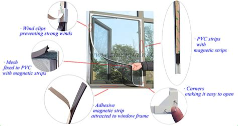diy magnetic insect screen window insect screen doors  windows aluminium windows  insect