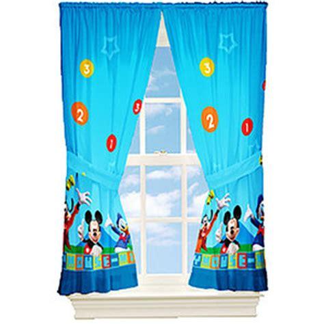 disney s mickey mouse window drape rooms walmart