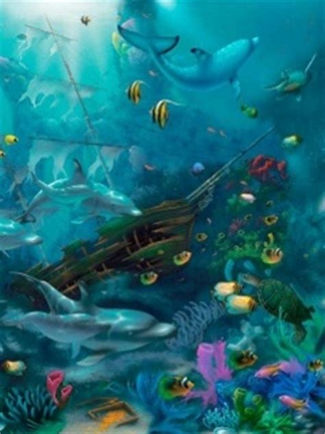 Animated Fish Aquarium Wallpaper Mobile - animated aquarium wallpaper 240x320 wallpoper