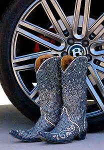 Swarovski Crystal Bling Cowgirl Boots