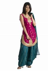 Patiala Style Salwar Kameez Fashionzu
