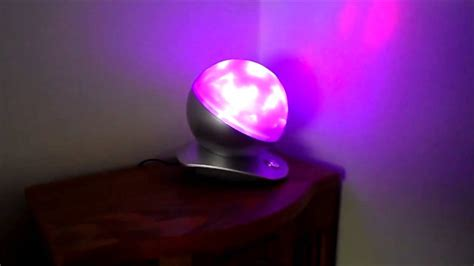 review of laser sphere colour changing lamp mesmerizing