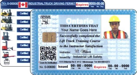 Scissor Lift Certification Card Template by Scissor Lift Certification Card Template Morn Scissor