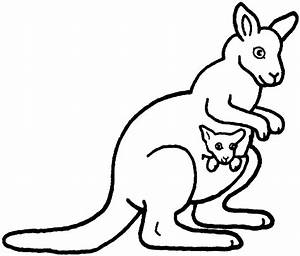 Coloring Kangaroo Coloring Page Puzzle Coloring Pages