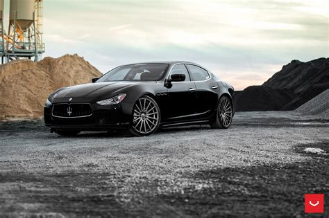 black maserati black maserati ghibli looking fly on custom polished