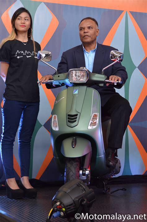Modification Piaggio Medley by 2017 Vespa S125 I Get Piaggio Medley S 150 Abs Motomalaya