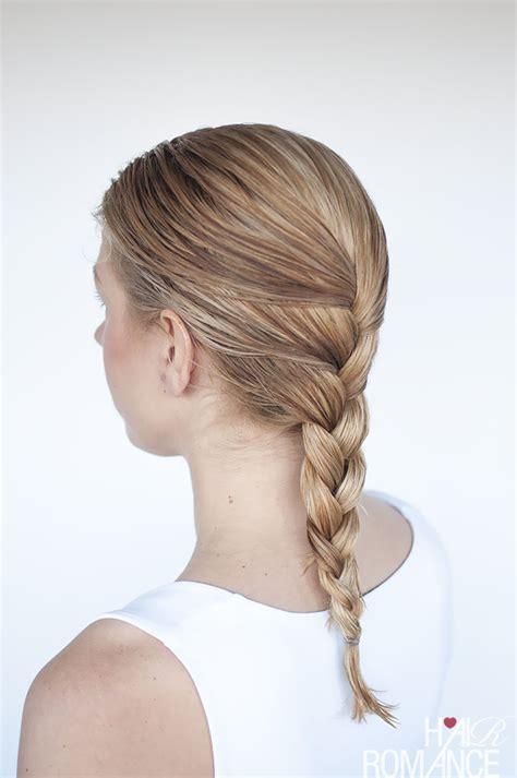 hairstyles  wet hair  simple braid tutorials
