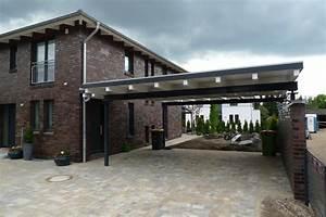 Moderne Carports Mit Glasdach : stahl carport mauer wei einfahrt pinterest carport garage und haus ~ Markanthonyermac.com Haus und Dekorationen