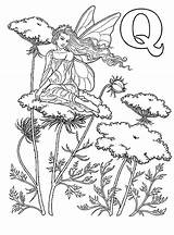 Coloring Wood Burning Patterns Fun Elfjes Alfabet Pyrography Fairy sketch template