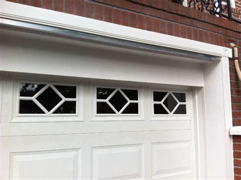 garage door trim pvc garage door trim traditional new york