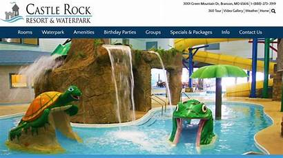 Waterpark Branson Castle Park Hotel Goldfish Bowl