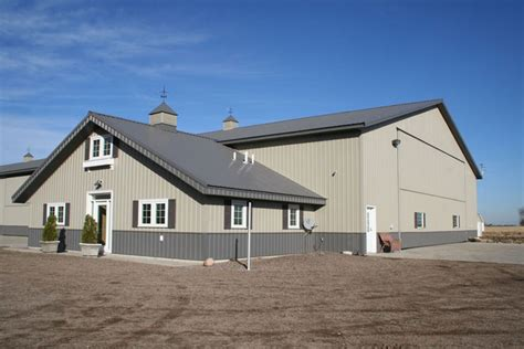Modern Minnesota Farm Building