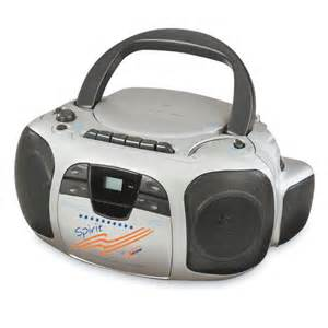 Radio with CD and Cassette Player