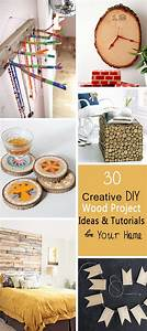 30, Creative, Diy, Wood, Project, Ideas, U0026, Tutorials, For, Your, Home