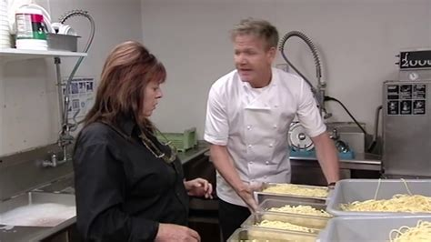 Kitchen Nightmares by Empty Restaurant Has 400 Portions Of Pre Cooked Pasta
