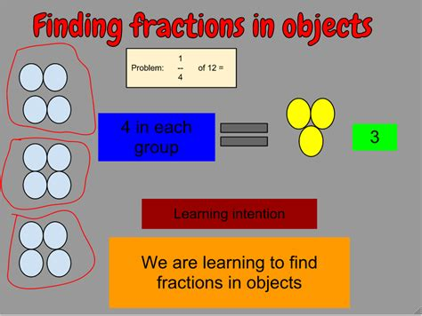 Rave Finding Fractions From Objects