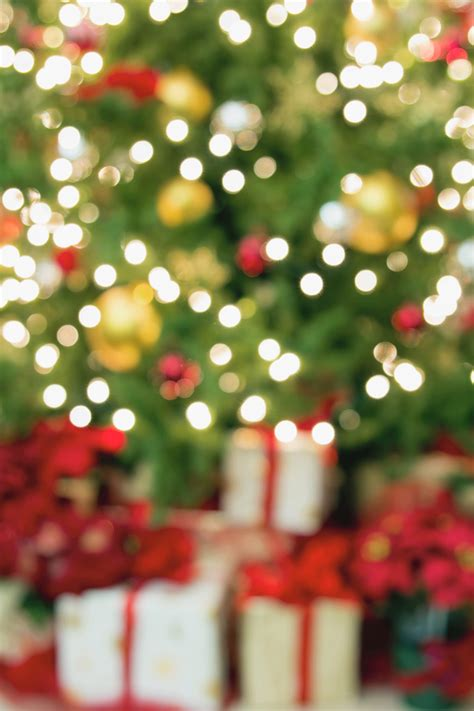 holiday photography backdrop quot christmas blur quot