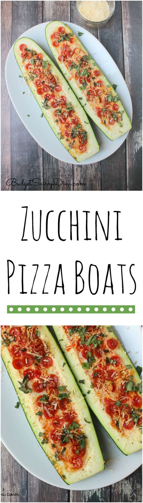 Recipe For Zucchini Pizza Boats by Zucchini Pizza Boats Recipe Budget Savvy