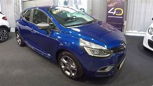 Clio 4 Limited : renault clio 4 door limited deluxe gt line look iron blue walkaround interior model ~ Medecine-chirurgie-esthetiques.com Avis de Voitures