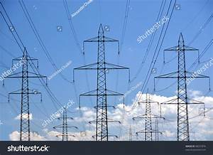 High Voltage Power Lines Stock Photo 58231876 : Shutterstock
