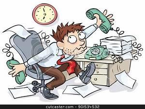 Office Worker stock vector