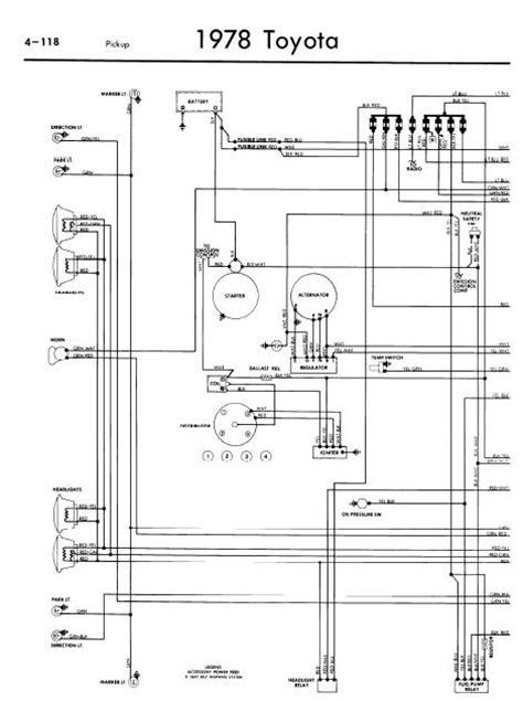 Toyota Pickup Wiring Diagrams Online Manual Sharing