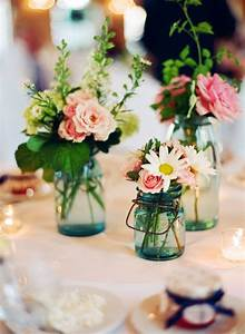 Mason, Jar, Centerpieces, Ideas, For, Wedding, Reception, Centerpieces, Using, Mason, Jars