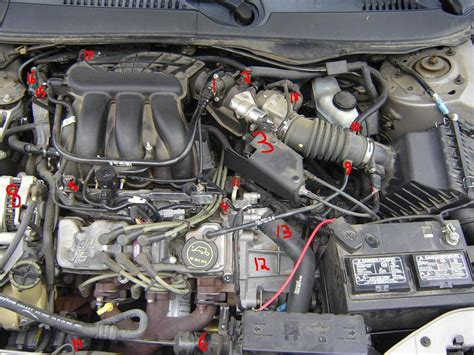 similiar ford taurus engine diagram keywords engine diagram 3 0 v6 2001 ford taurus get image about wiring