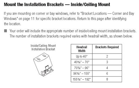 hunter douglas luminette ceiling mount installation brackets automated shade  store